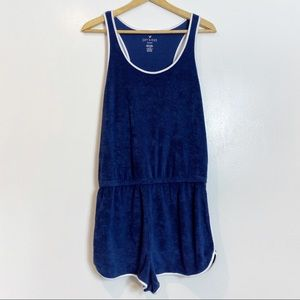 American Eagle Outfitters Terry Romper